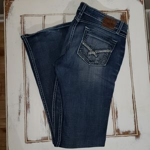 BKE Stella Stretch Boot cut denim jeans 30/33½